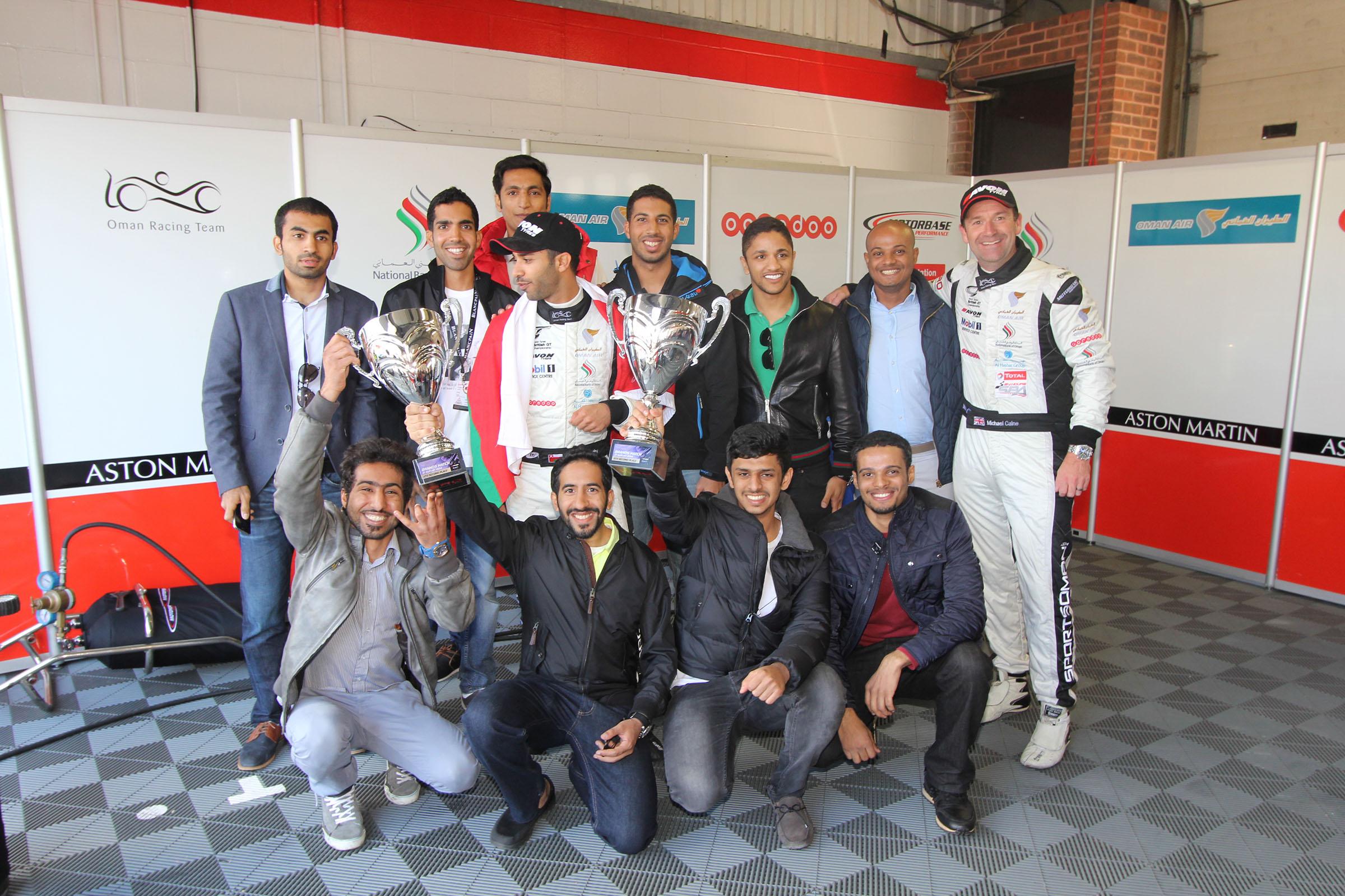 Ahmed Al Harthy Pit Stop Photos