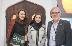 Left to Right: CEO Ruba Jurdi of Rally Royale, Her Excellency Maitha Al Mahrouqi, Undersecretary at the Ministry of Tourism and Marketing Director Arthur op den Brouw of Rally Royale.