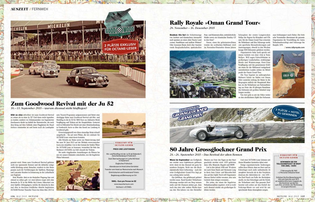 Octane magazine Rally Royale Oman grand Tour