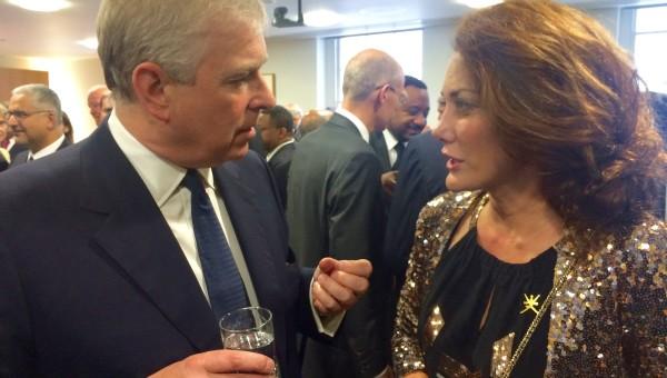 Ruba Jurdi meets the Duke of York